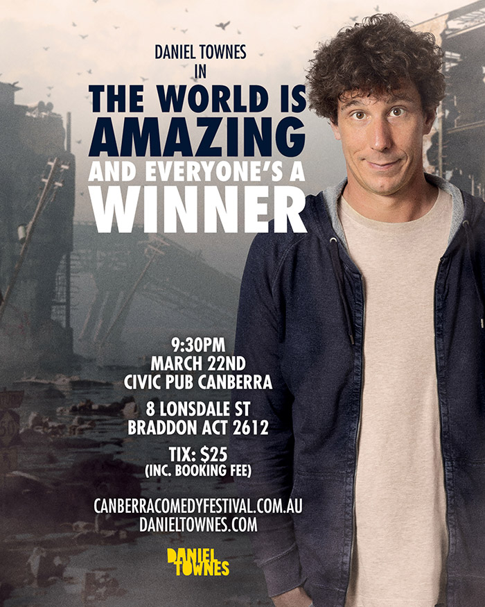Canberra Comedy Festival Daniel Townes