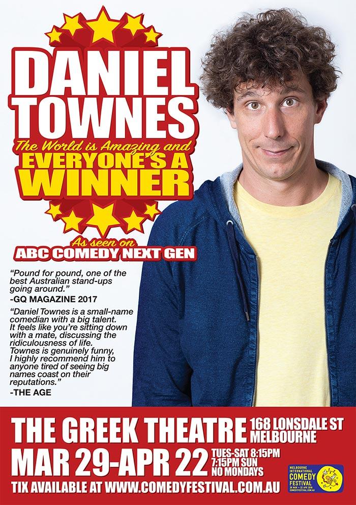 Melbourne Comedy Daniel Townes